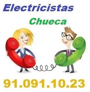Telefono de la empresa electricistas Chueca