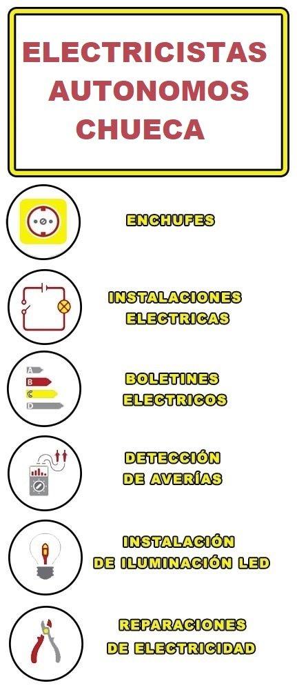 servicios de electricidad en Chueca